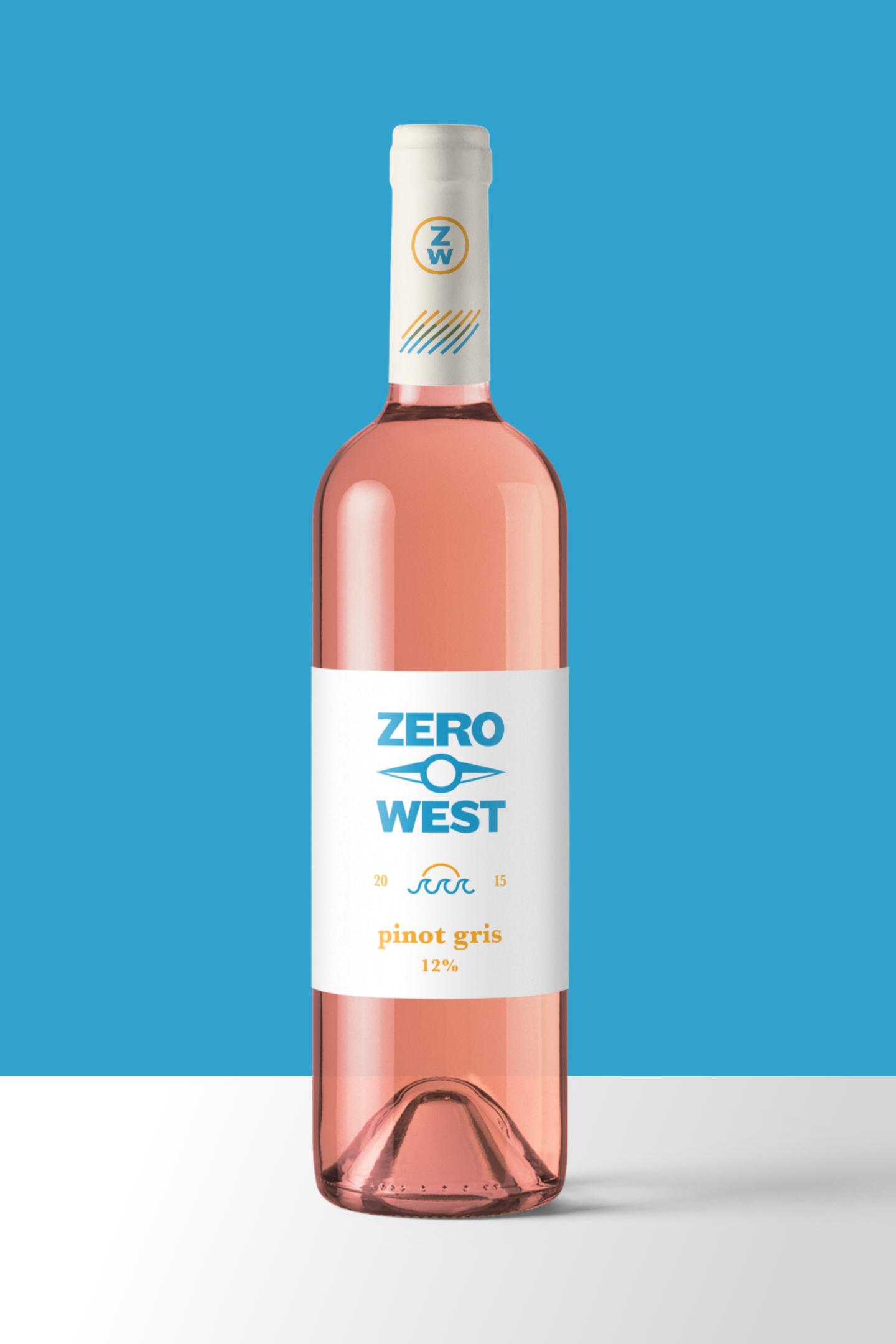 Zero West: Wine Label Design