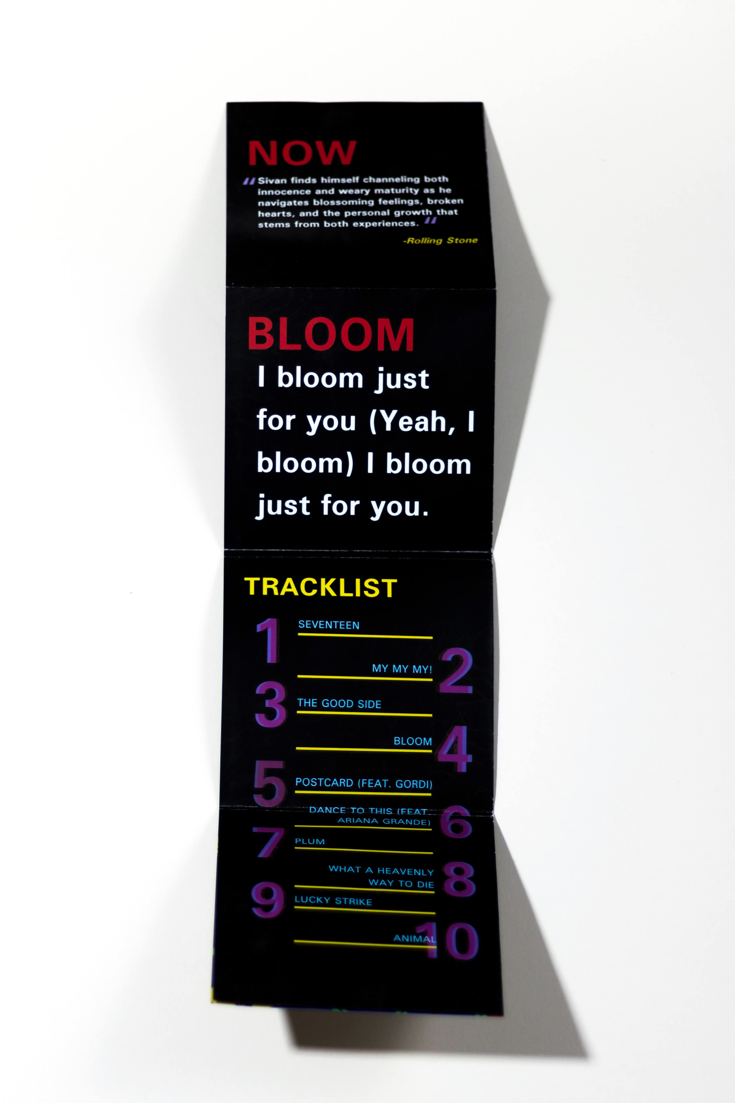 Bloom Booklet