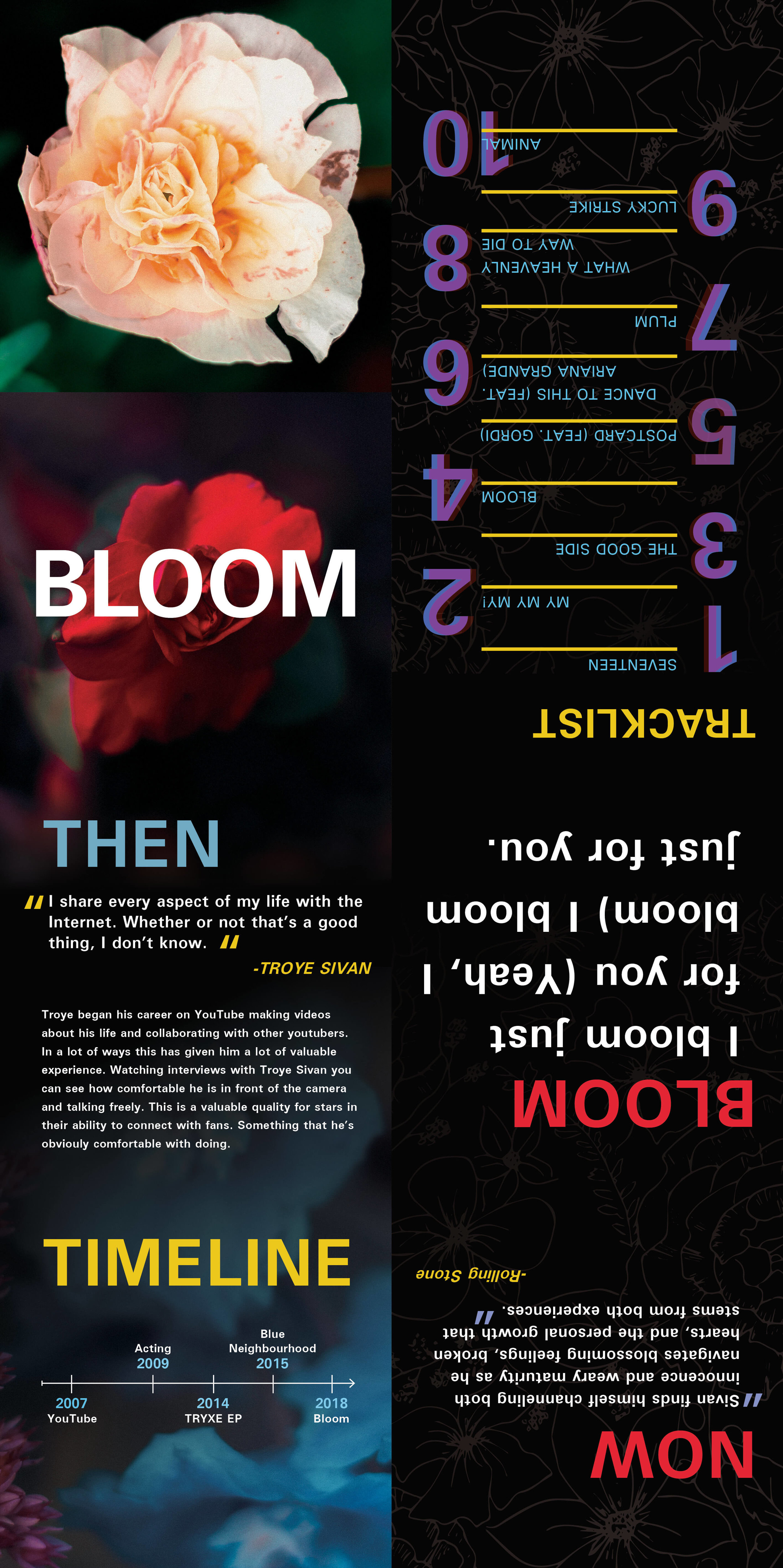 Bloom Booklet design: flat