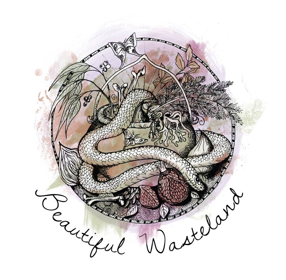 Local fashion label Beautiful Wasteland approached Runaway Graphics to help develop a brand identity to convey the natural dye techniques used in their fashion designs and accessories.