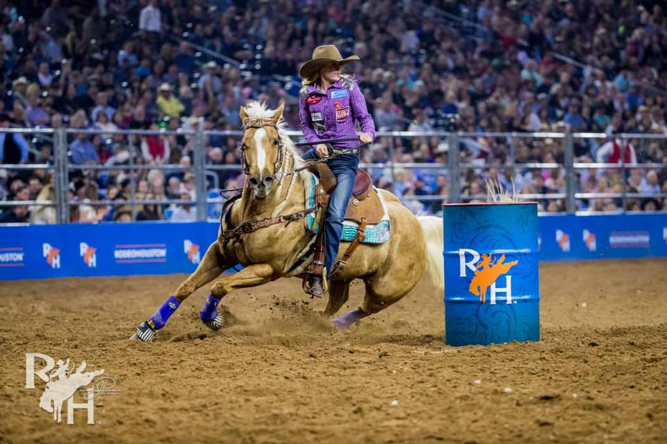 "Jimmie Smith - ""After working with Jackie for many years I have learned that she has so much knowledge on anything to do with rodeo and barrel racing.No matter how my run goes I can send it to her and she can pick apart the little things that need adjusting. With that help I am able to go to the practice pen and fix those and make better runs to follow.She also has an awesome eye for bits. If I am having trouble she can tell me exactly what bit to put on!""2018 WPRA Rookie Of The Year"