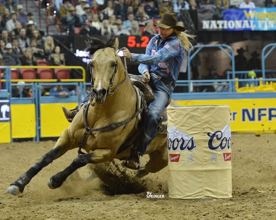 "Jackie Ganter - ""I have had Jackie in my corner my whole life... Her accomplishments say enough about her ability to win, but I think her mental game is what is second to none. She knows how to overcome and conquer with an awesome attitude. I would highly recommend Jackie as a mentor to help you get to the winner's circle.""2x NFR Qualfier, 2015 WPRA Rookie Of the Year"