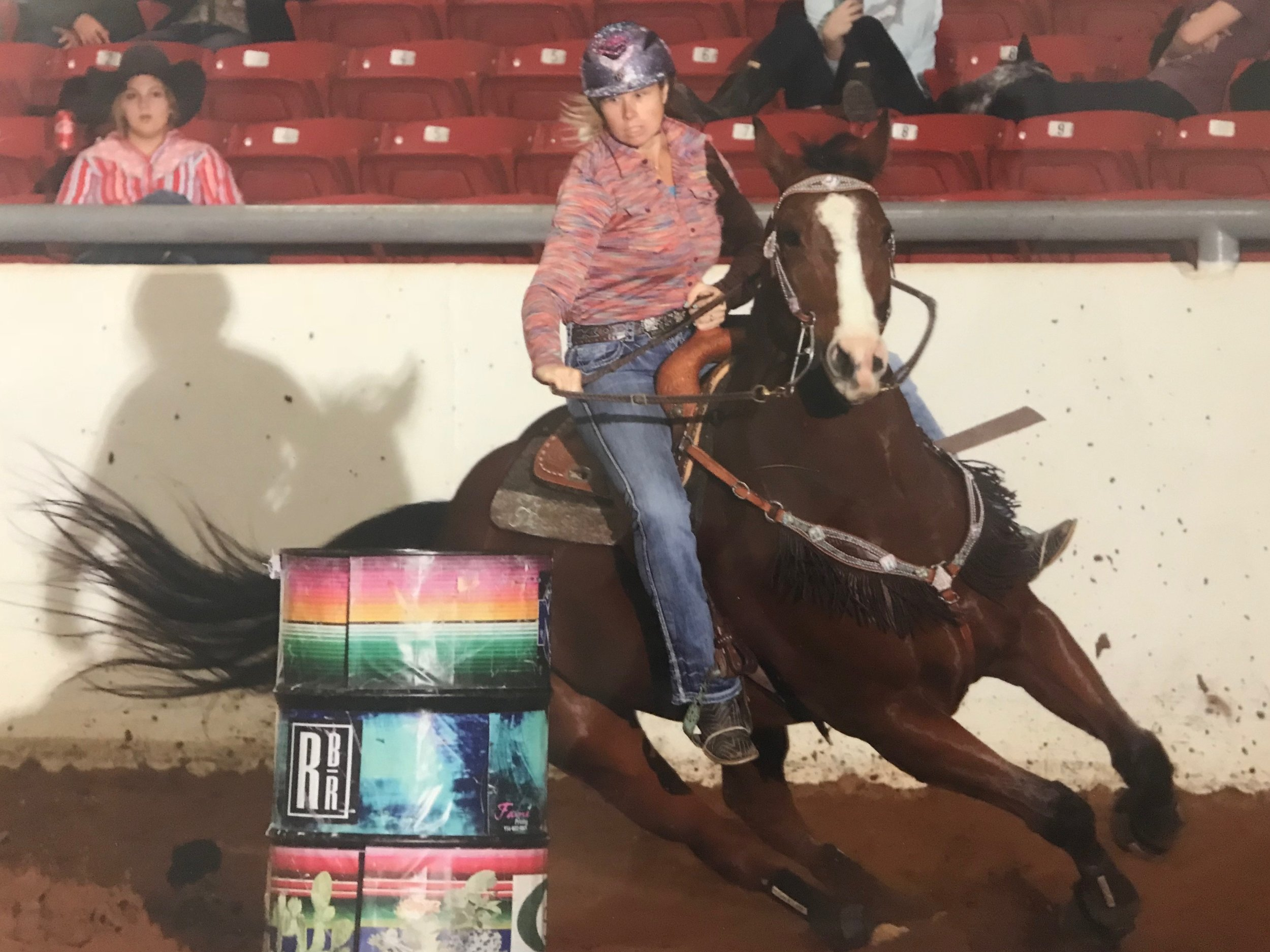 "Tylena Pagel - ""Jackie has been an incredible professional resource over the last few years. She is a wealth of knowledge in every aspect of horsemanship and barrel racing. Not to mention her vast insight into horse breeding, finding the right tack, fitting saddles to the rider, and all around hints to help you be better than you thought you could be.Her personal but professional approach to applying her triumphs and failures to help you improve your runs shows how invested she is in making you the most competitive barrel racer you can be."""
