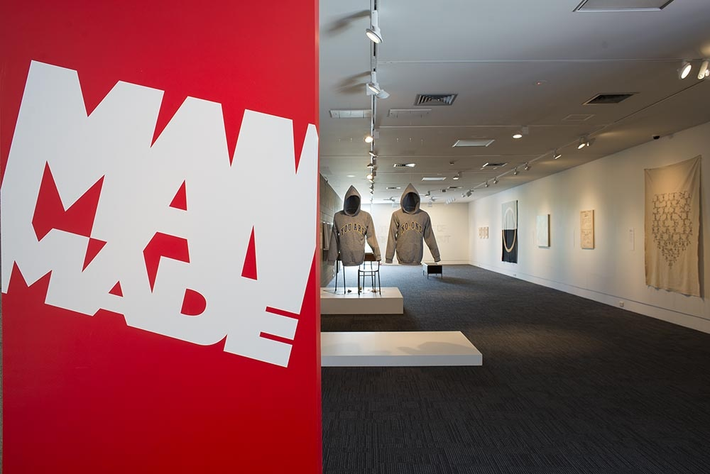 Man Made , installation view. Photo John Lake. Image courtesy of The Dowse Art Museum.
