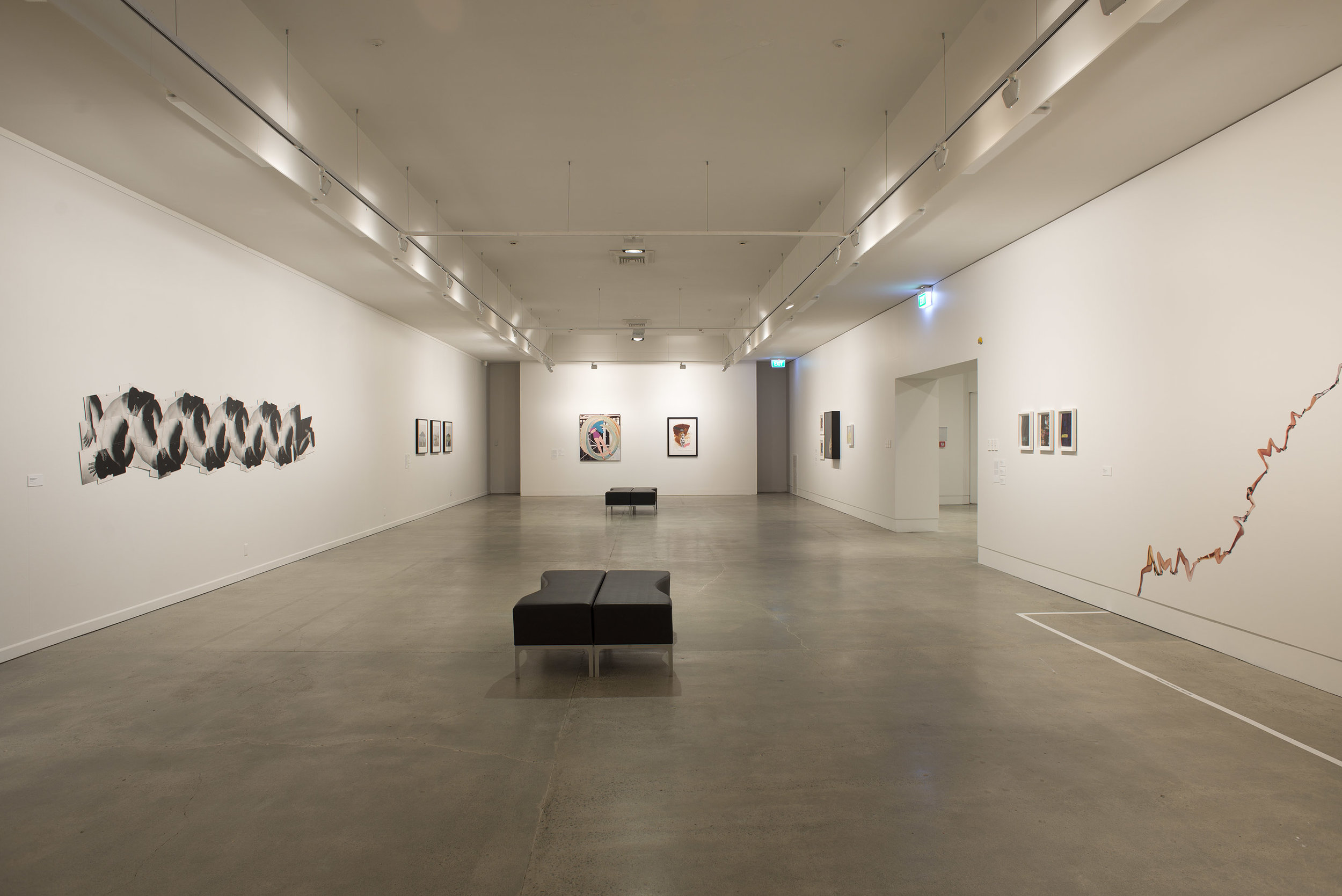 Cut + Paste: The Practice of Collage,  installation view, 2015. Courtesy of The Dowse Art Museum. Photo: John Lake