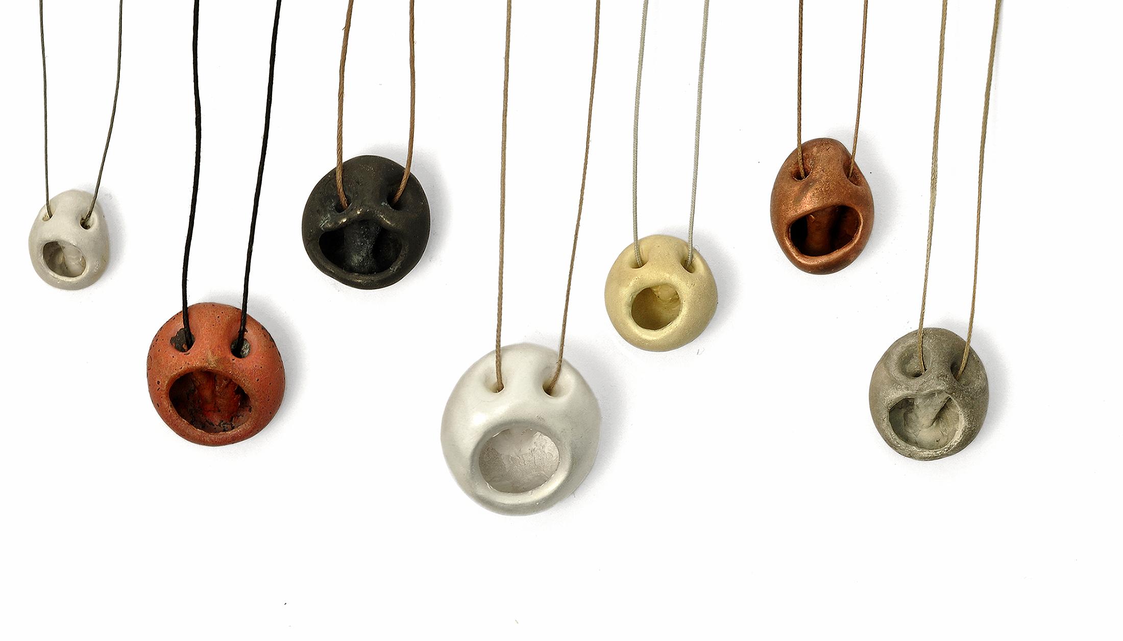 Peter Bauhuis,  Mathematicians Carl Friedrich, Albert, Kurt, Isaac, Muhamad, Leonhard, Adam , 2013. Silver, gold, bronze, copper. Courtesy of the artist.