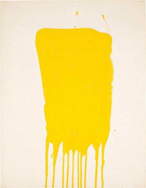 Yves Klein, Monochrome jaune sans titre, 1957.jpg