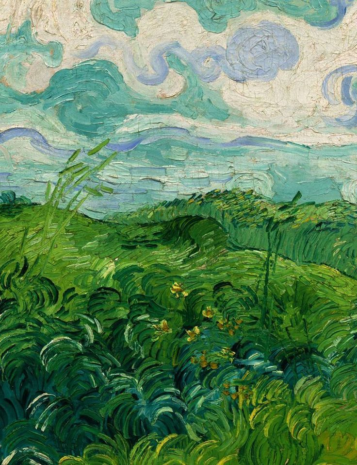 Green Wheat Field _ Vincent van Gogh _ circa 1890.jpeg