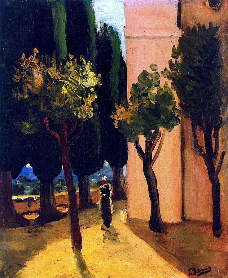 Street Scene _ Andre Derain - circa 1920.jpeg