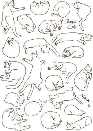 Linear cats by Nyanko.jpeg
