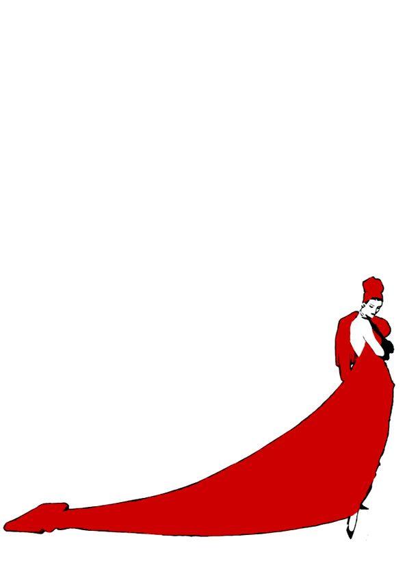 Woman in Red by René Gruau.jpeg