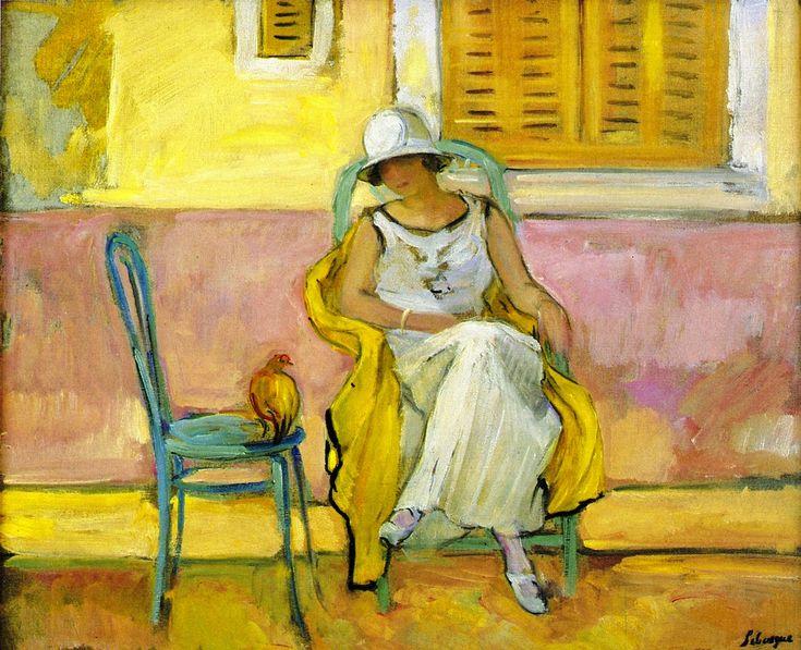 Woman in a White Dress | Henri Lebasque.jpeg