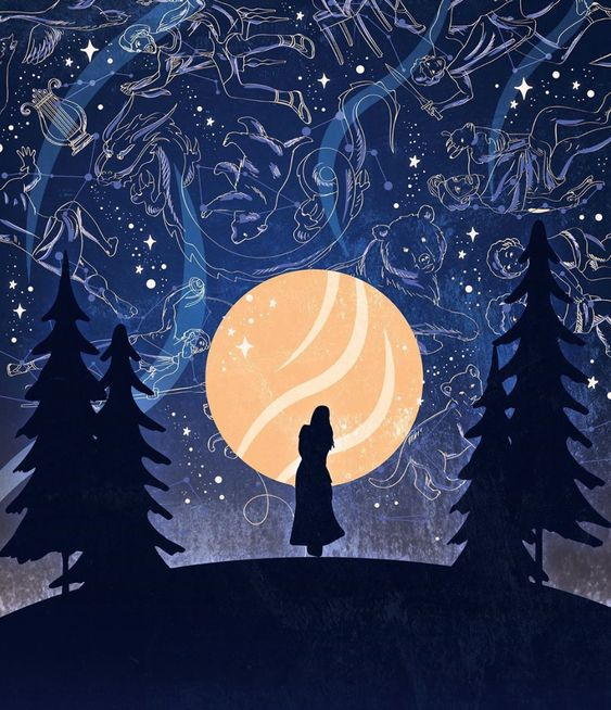 Becca Reitz orange moon constellations.jpg