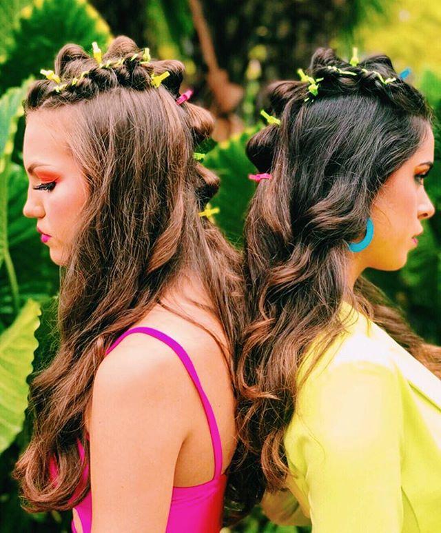 Bringing you our latest collection with @thewetbrush ... NEON TROPICS 🌴🍌🌺🦜 . . . ⠀⠀ Hair by: @vasified @ginamichellehair @kaley.joy.wittnik Models: @rylinutah @milafranciscoo Wardrobe: @fashionnova Makeup: @michelereneethestudio @lizfaithy #thewetbrush #modernsalon #hairshow #premiereorlando #ittakesapro #saloncentric #neontropics #hairartist #platformartist #photoshoot #neonacceaaories #studiovasi #behindthechair #bioionic ⠀⠀ ⠀⠀ #vasified #photooftheday #photographer #creativepreneur #hairstylist #modernsalon #hairlove #hairartist #hairbrained #hairobsessed #amazinghair #hairmagic #behindthechair