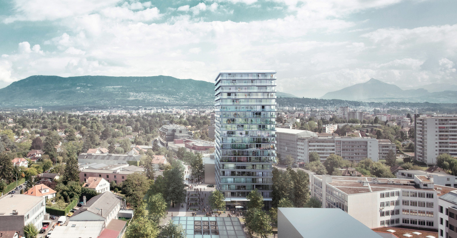 Entre tours et «voie verte», Genève se cherche -