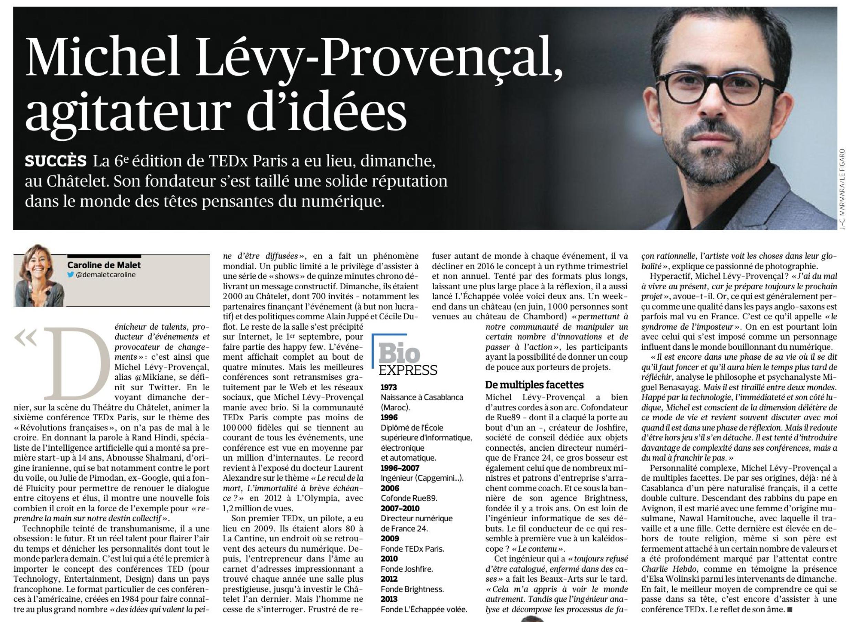 Le Figaro, 3 novembre 2015