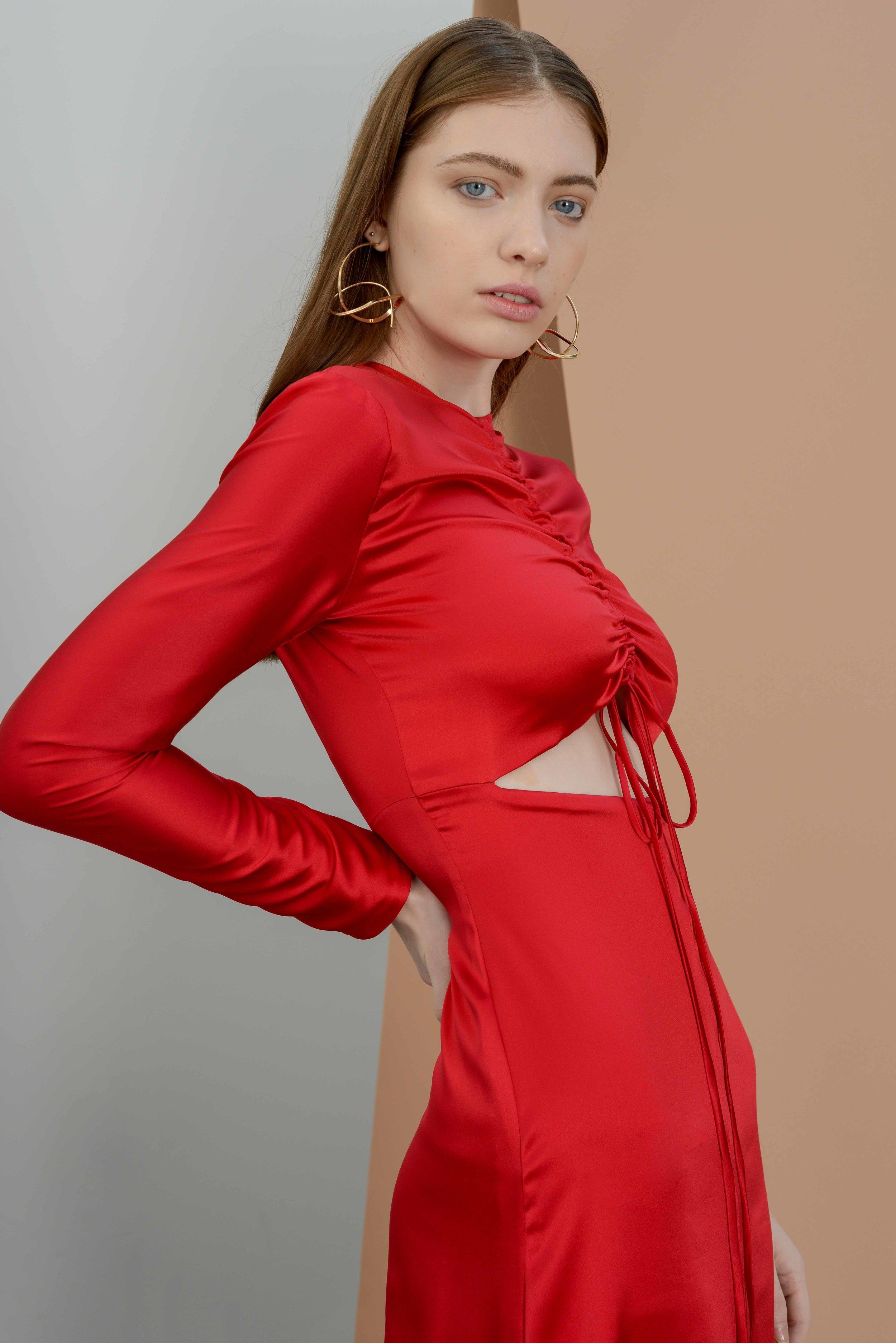 LIONPALM RED SILK DRESS Fashion Foundry.jpg