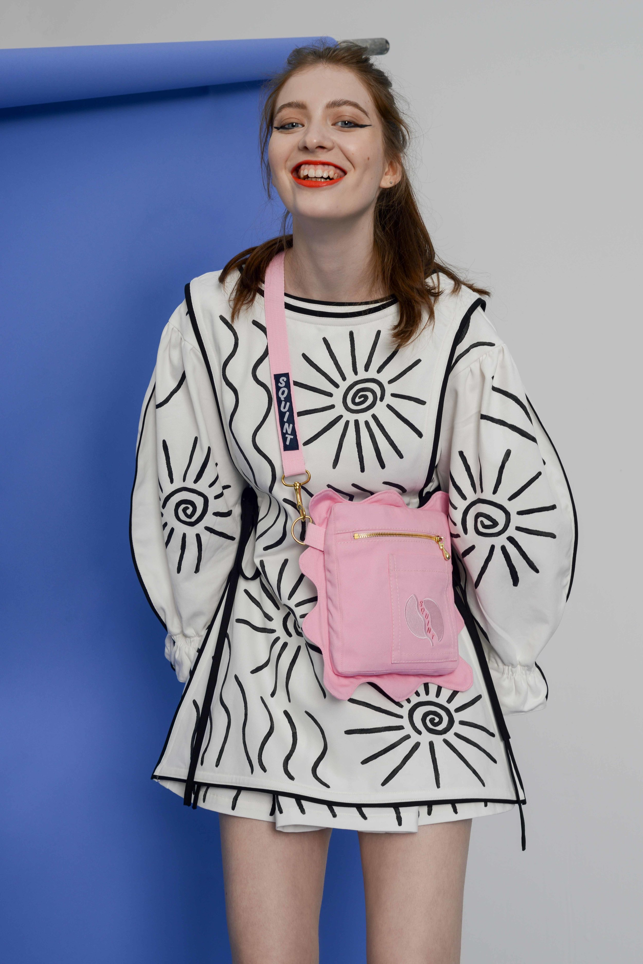 SQUINT X ALICE DANSEY WRIGHT TABARD DRESS Fashion Foundry.jpg