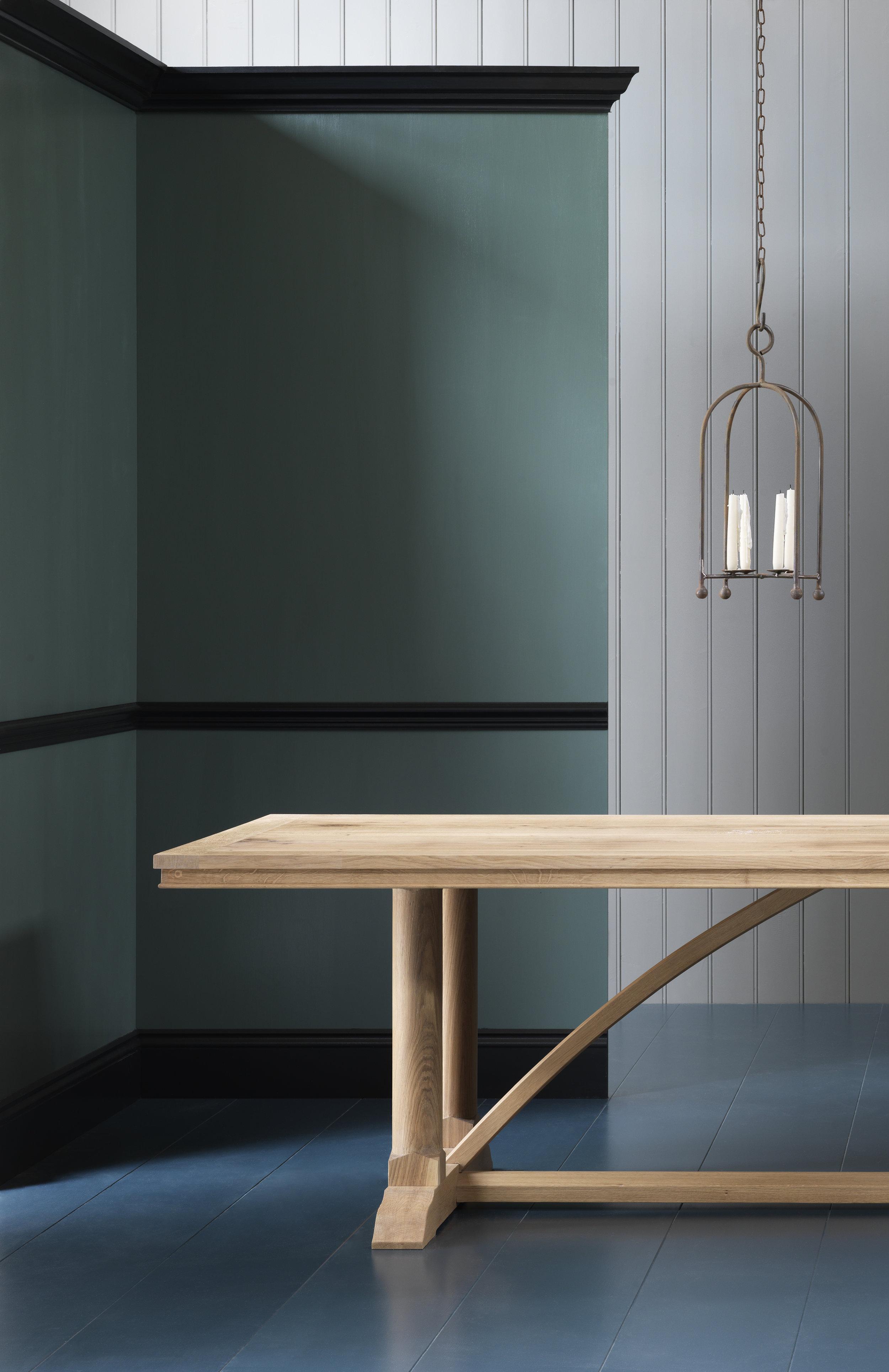 Cruck-frame Farmhouse Table -