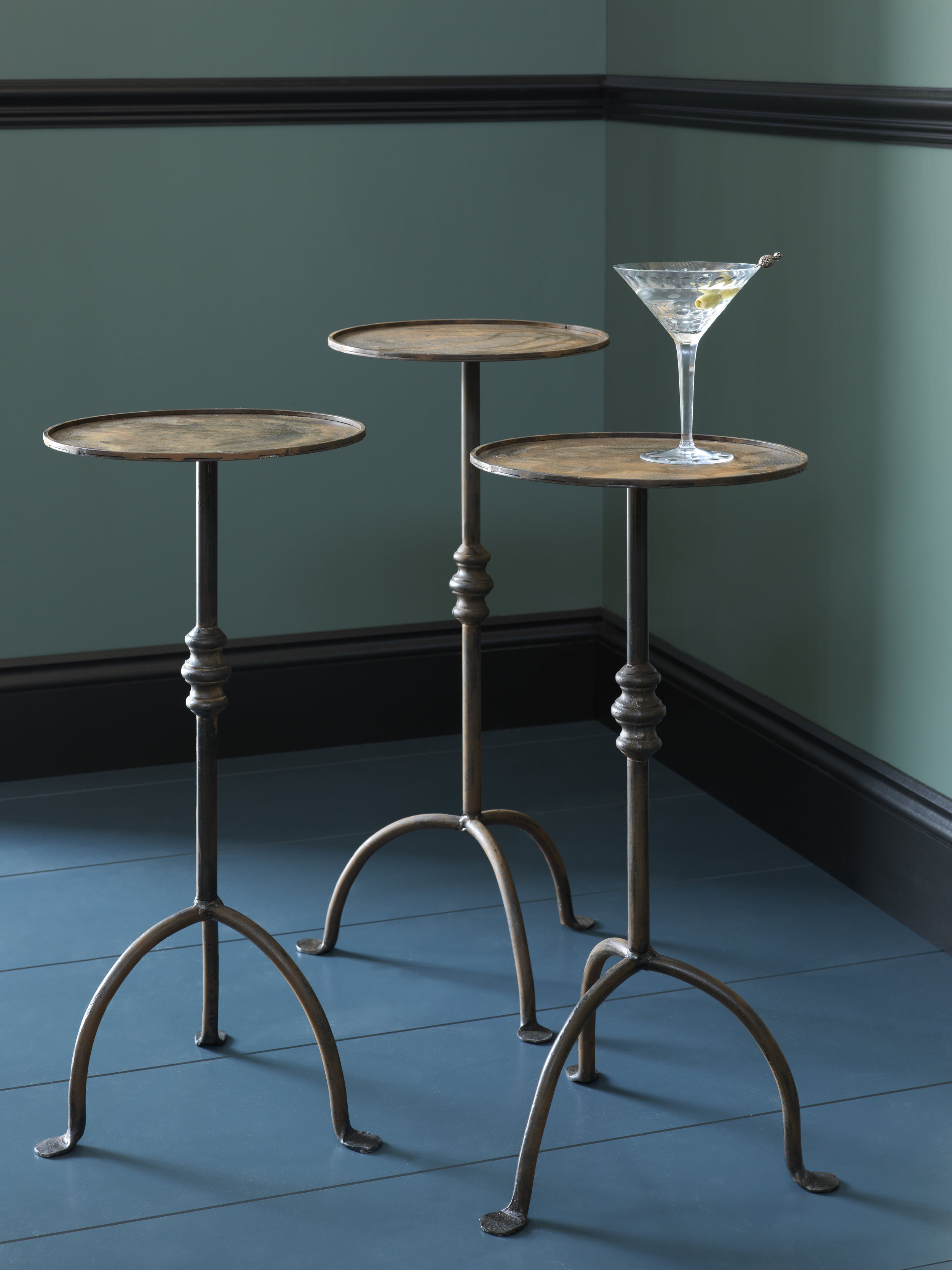 Forged Martini Table -