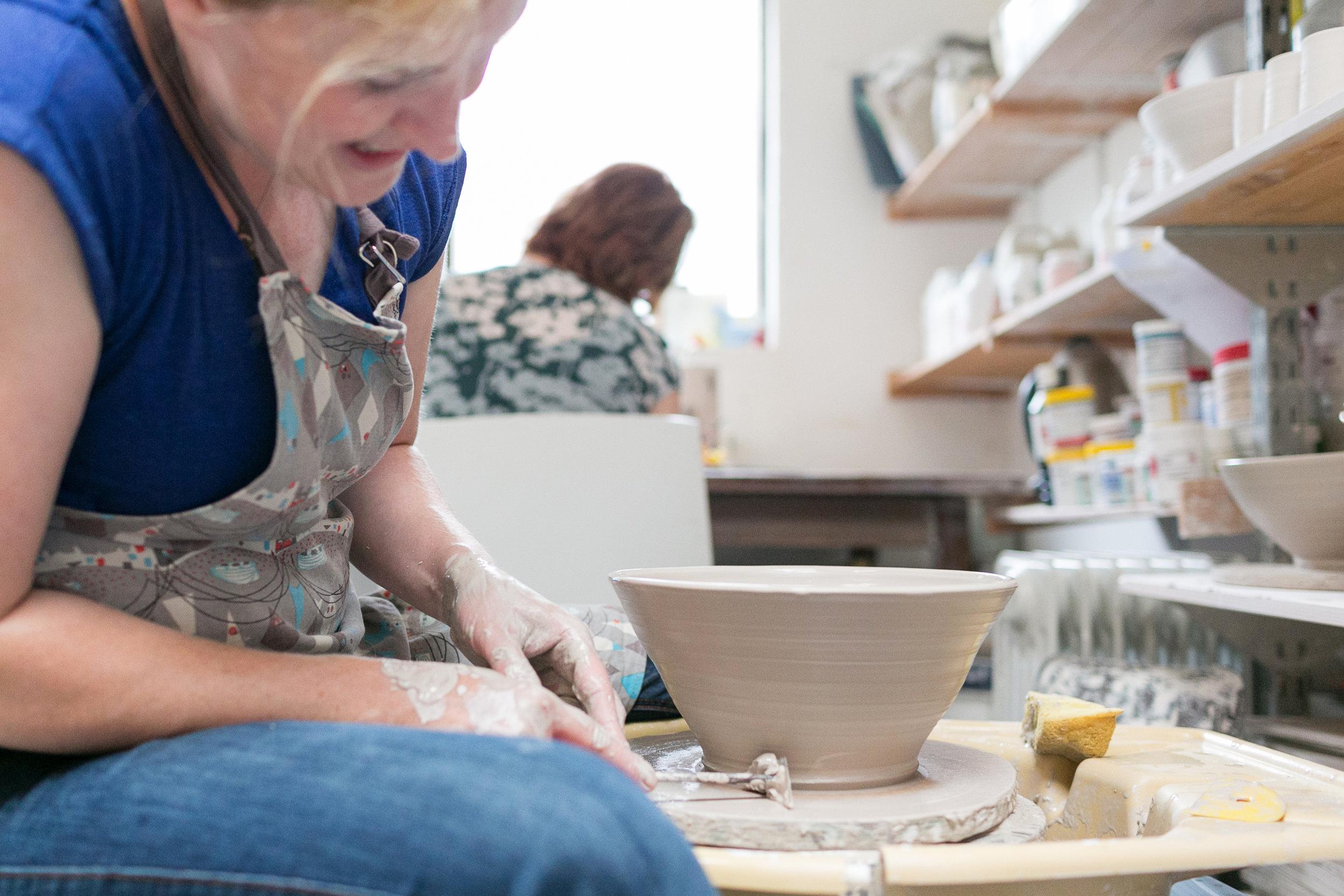 Elaine working on her pottery.jpg
