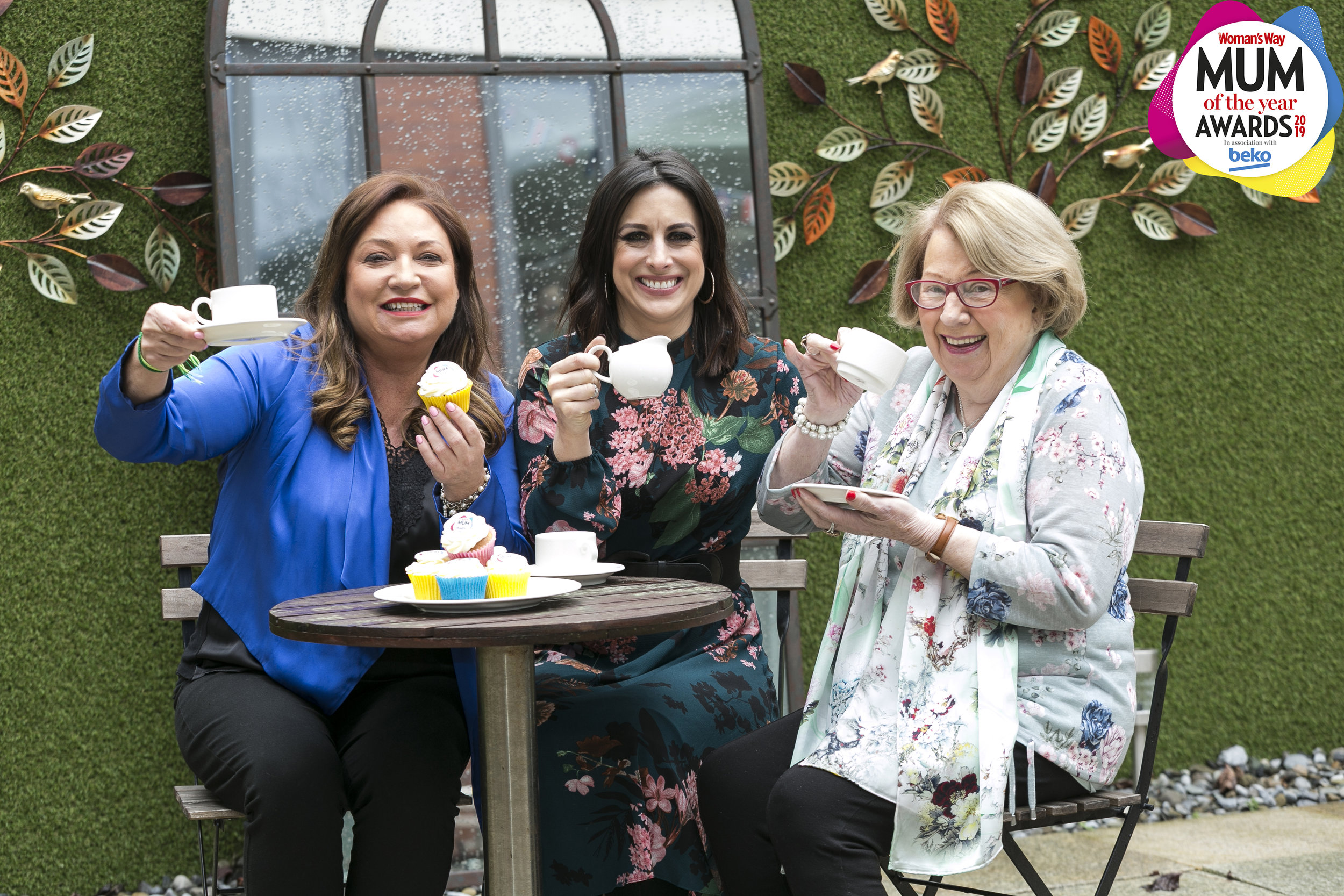 Norah Casey, Lucy Kennedy and Mags Casey at the launch for the 2019 Mum of the Year Awards