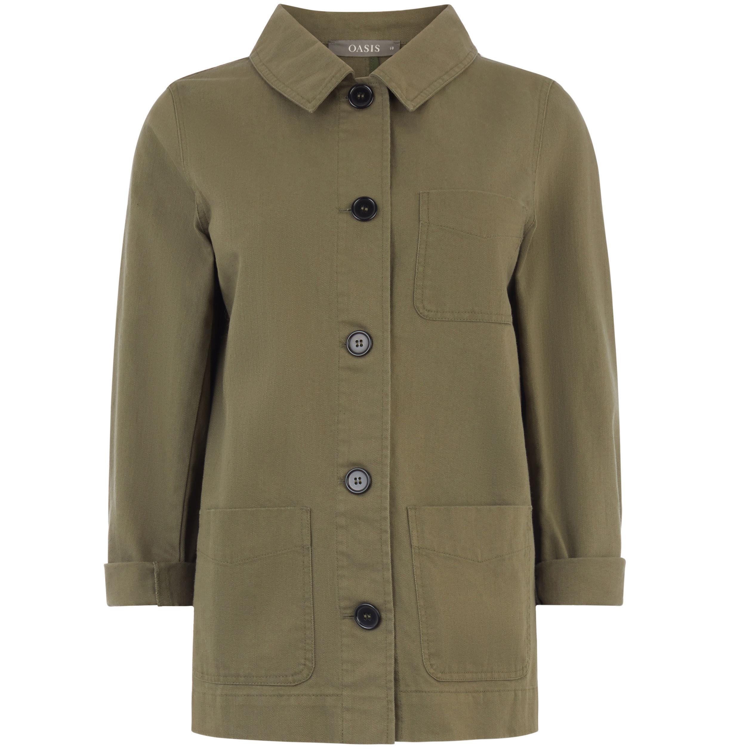 4. Oasis Utility Jacket