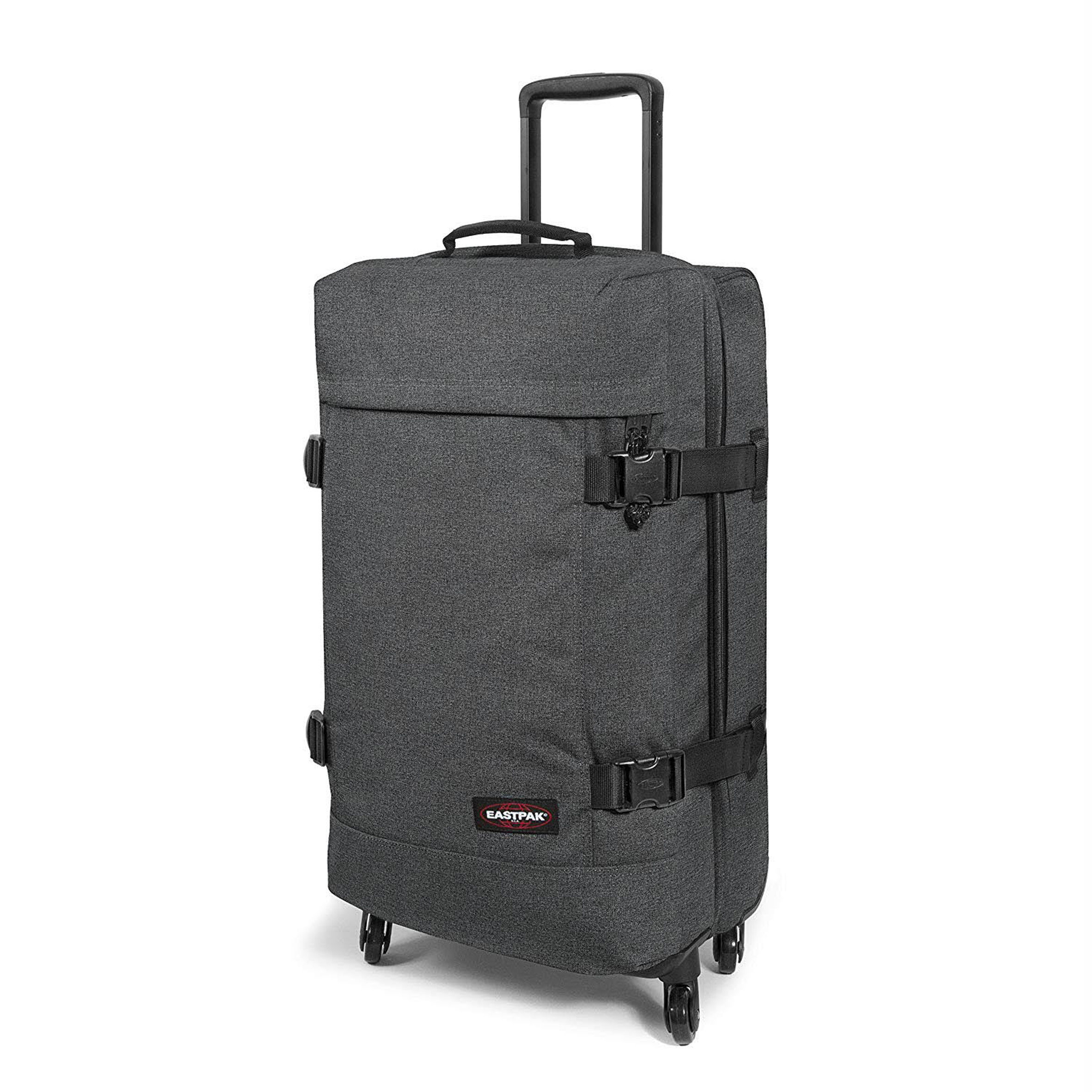 Eastpak Trans4 L suitcase in black denim, Amazon, amazon.co.uk
