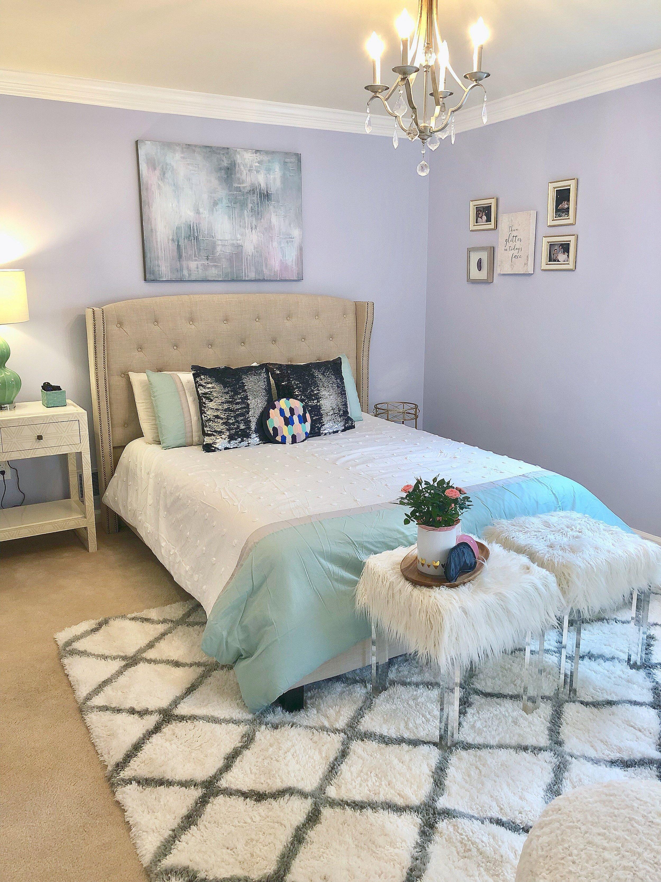 Hannah's Room artwork and chandelier.jpg