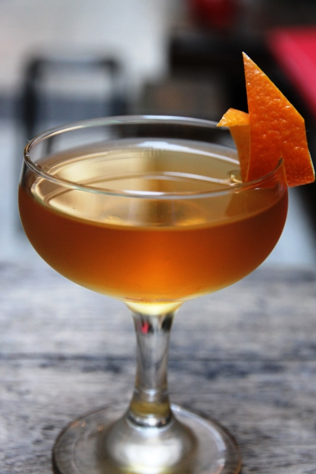 noilly prat, saffron lillet blanc, montenegro, solerno, bitters & pernod