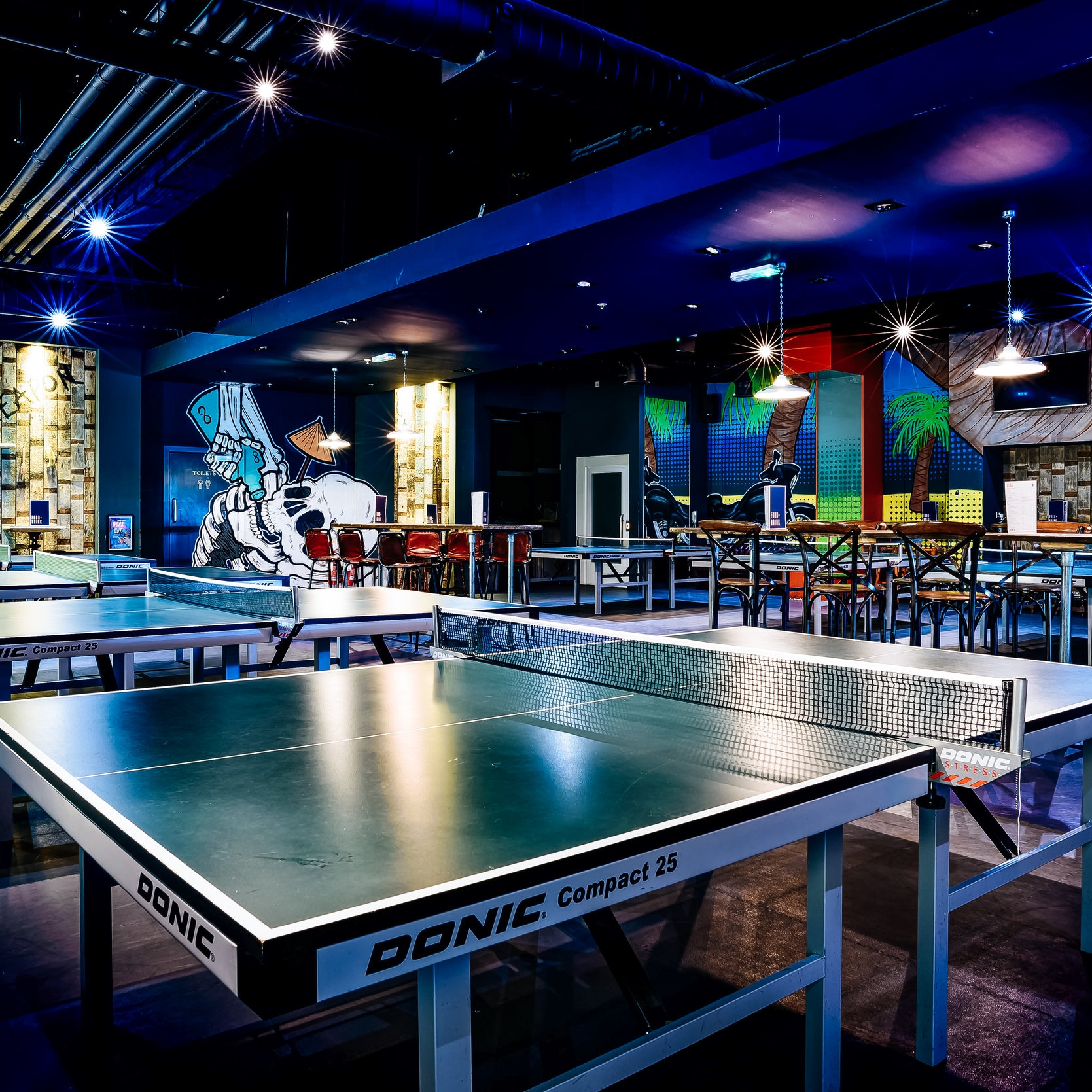 The Bat and Ball   Ping pong bar, live sport and private party