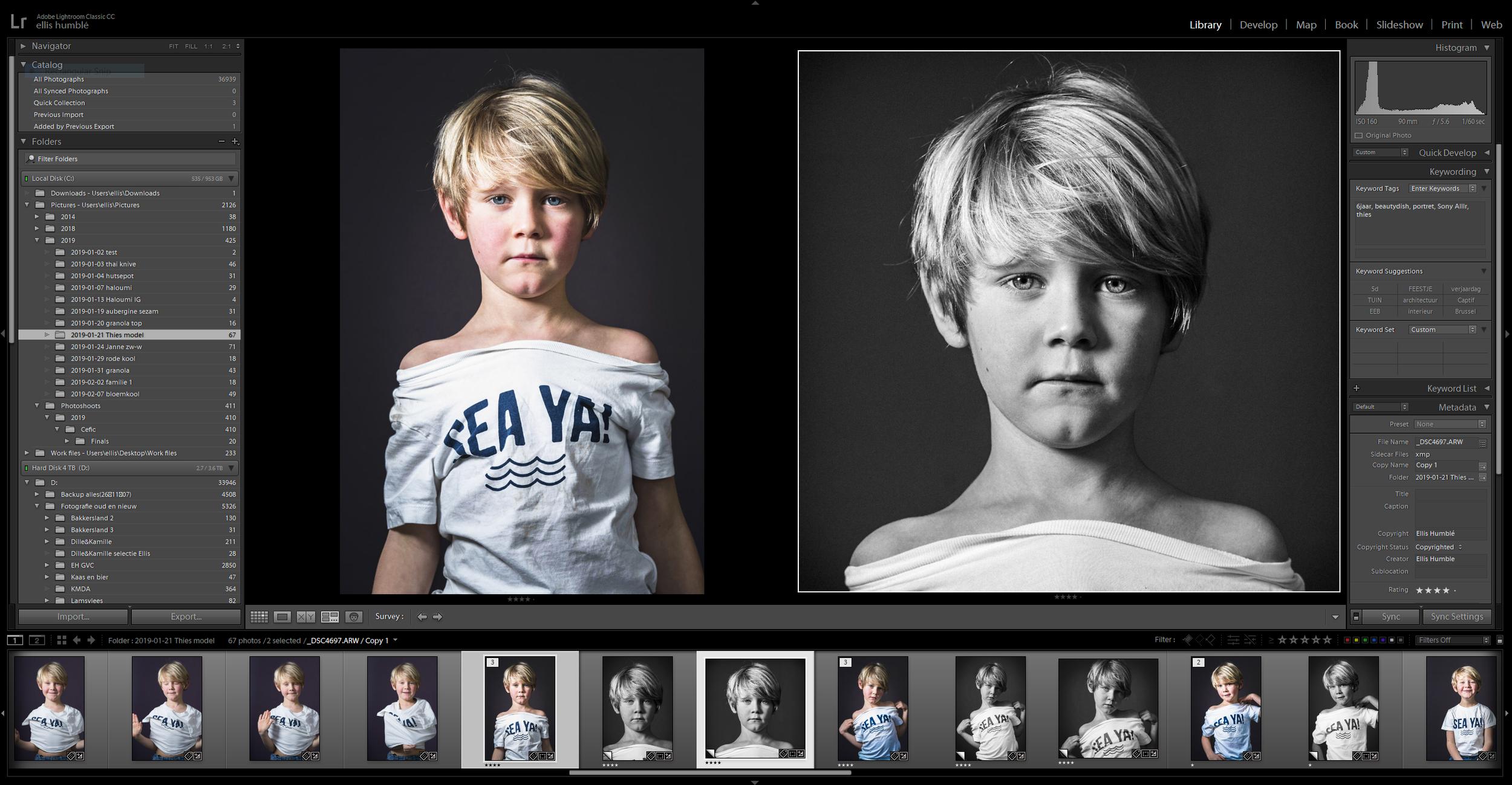 Leer beelden om te zetten van kleur naar zwart-wit op een doordachte en efficiënte manier