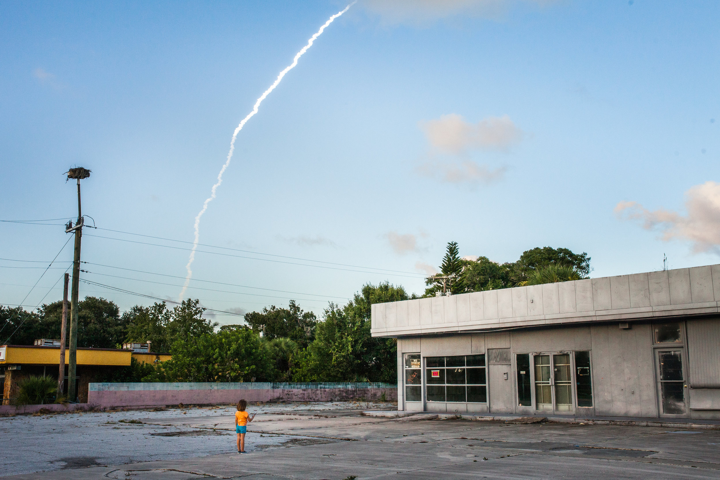 Rocket Launch, Cape Canaveral, 2016