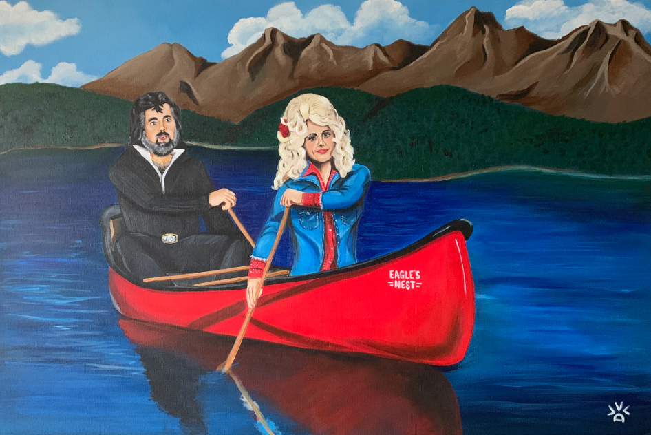Islands in the Stream - Kenny & Dolly