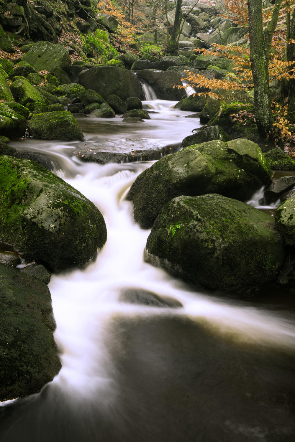 Tripod Tricks - A tripod is essential if you want to capture long exposures such as here to slow down and blur the water.