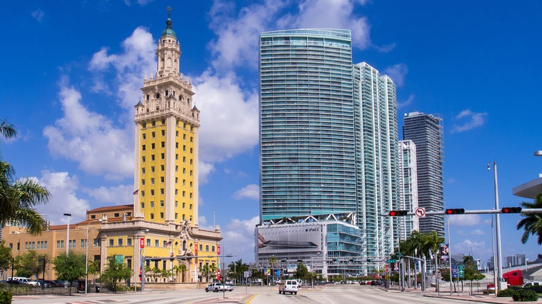 Freedom Tower - The Freedom Tower is a building in Miami, Florida, designed by Schultze and Weaver. It is currently used as a contemporary art museum and a central office to different disciplines in the arts associated with Miami Dade College.