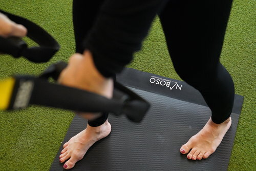 Normal Mat: € 109 (excl. VAT) - The unique, patent-pending material used in the Naboso™ Training Mat 1.5 is based on texture research and surface science which means it uniquely stimulates the body's nervous system through the skin on the bottom of the feet. Users will notice an improvement in postural control, stability and strength.
