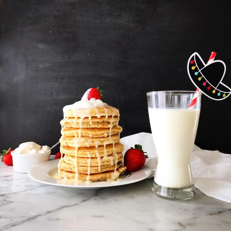 Tres Leches Pancakes