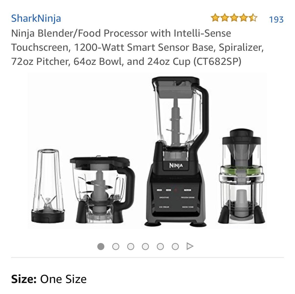 Ninja Blender / Food Processor