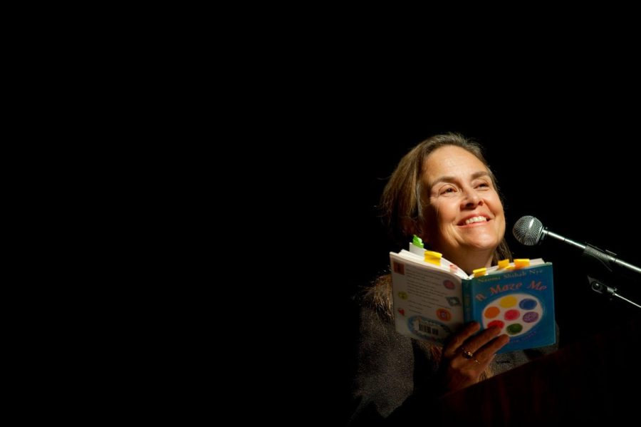 """Listen to the full recording of Naomi Shihab Nye's """"Your Life is a Poem"""" at  On Being . Image by  Rajah Bose/Gonzaga University /Flickr."""