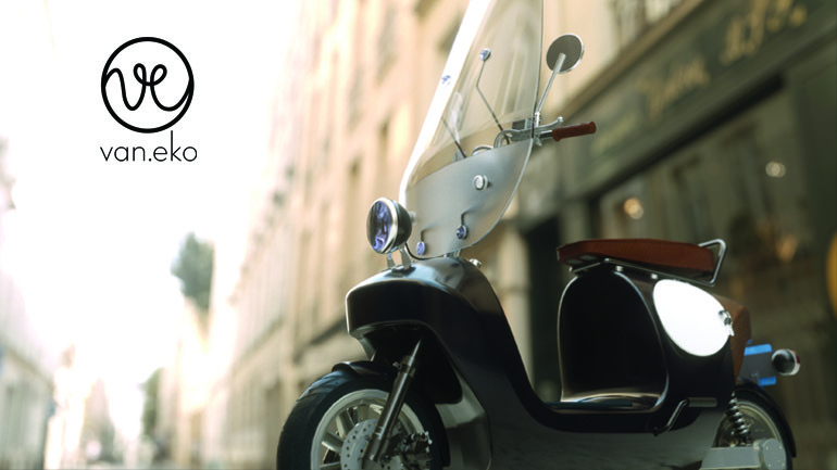 Van.eko offered investors a chance to win their famous Be.e scooter