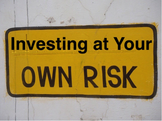 investing-at-your-own-risk