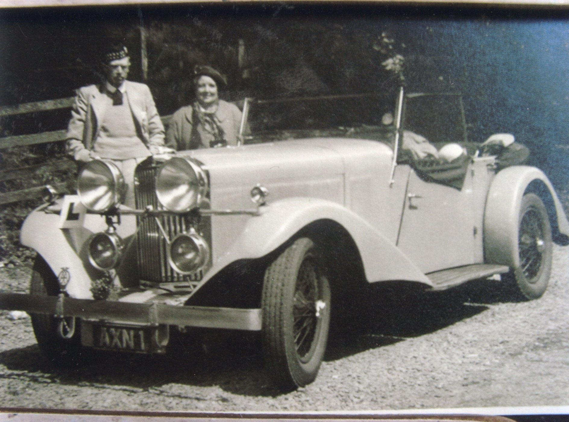 'AXN 1' touring whilst owned by the Lang family