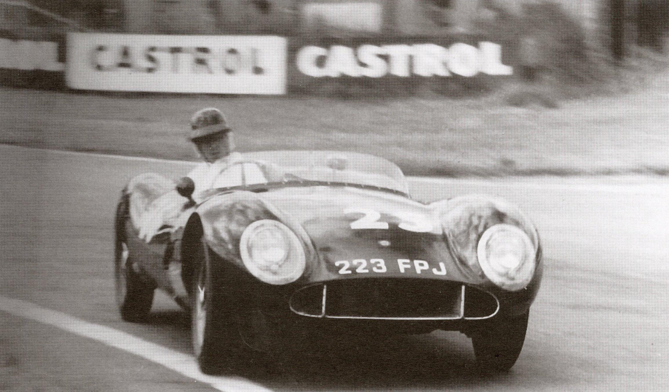 Playford MG, Goodwood, 1958