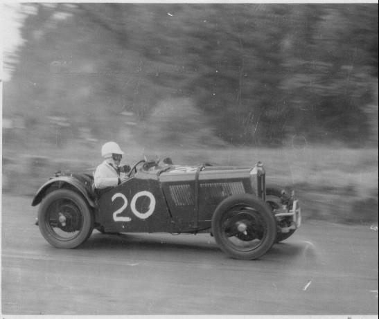 Otto Linton aboard J4005 in the 1948 Watkins Glen Grand Prix