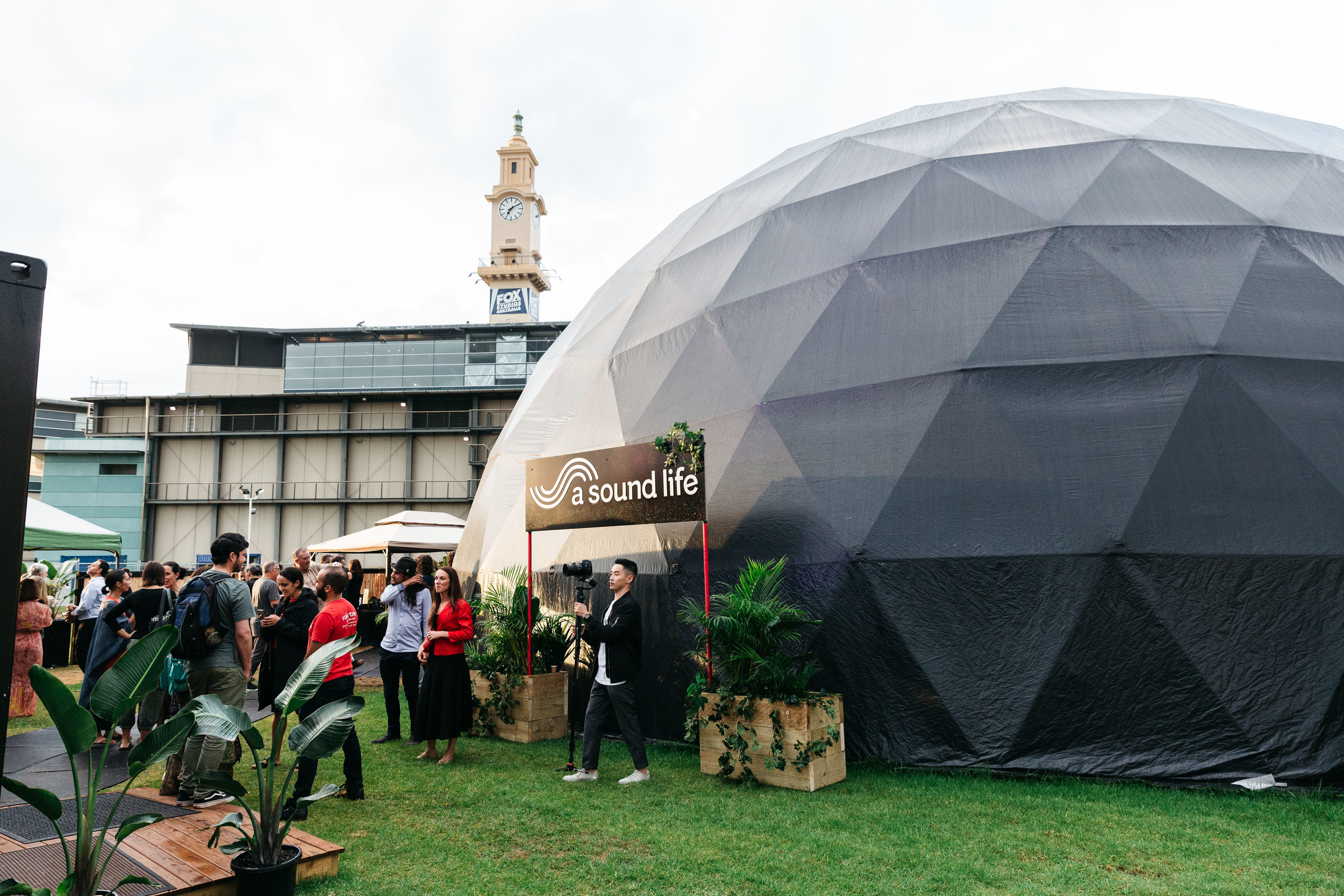 A   Sound Life Dome  in Sydney
