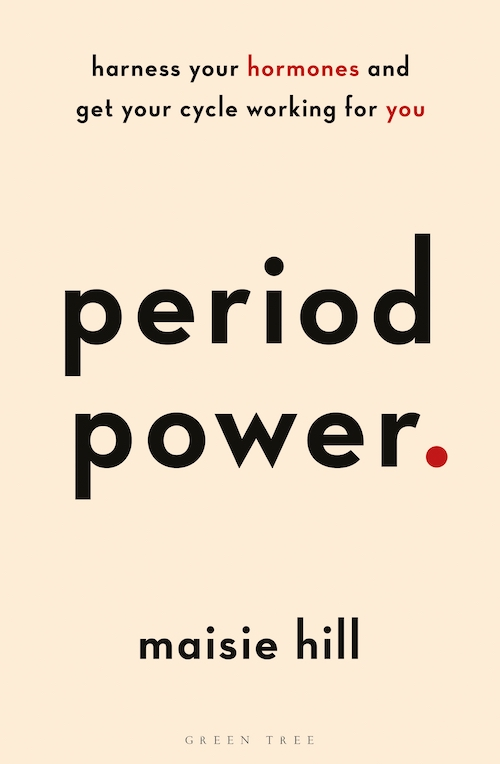 Period Power (green tree, $29.99) is available from all good bookstores. -