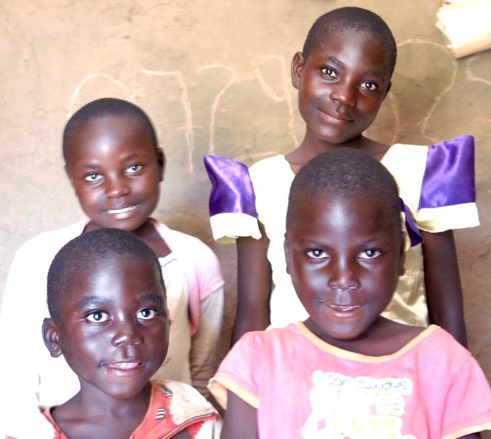 The Wafula children in their new home. PC: Nyambura
