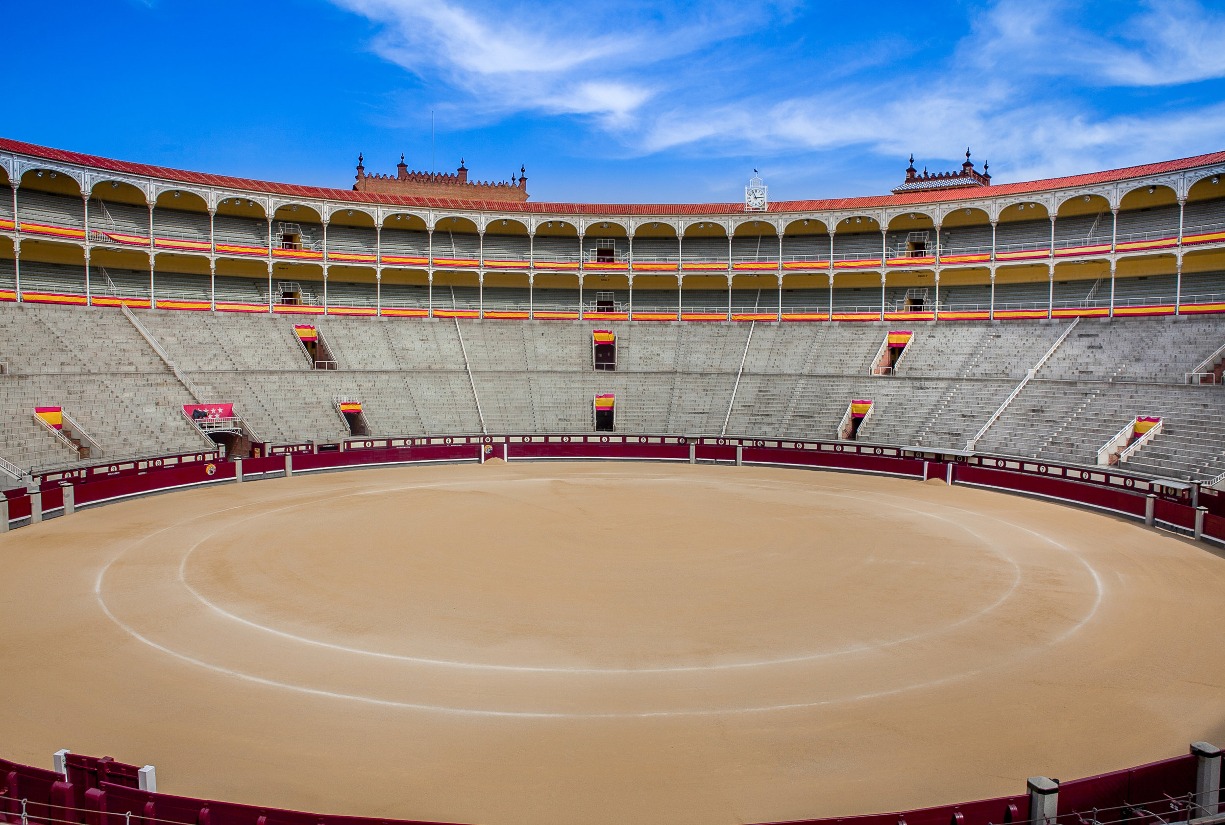 Las Ventas Bullring - Madrid, Spain.