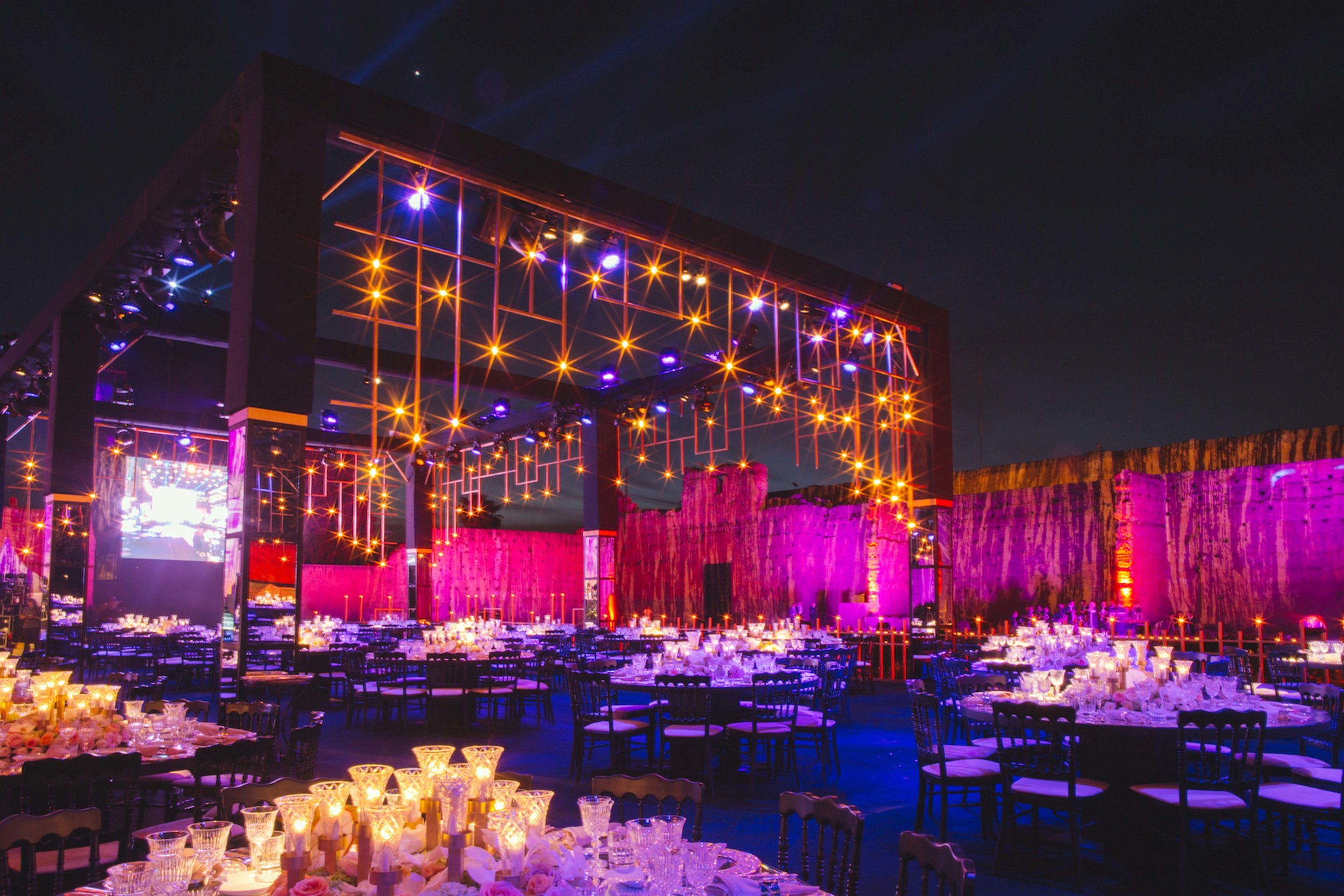 WEDDING - DATE: MAY, 2015LOCATION: MARRAKECH, MOROCCONUMBER OF GUESTS: 1000